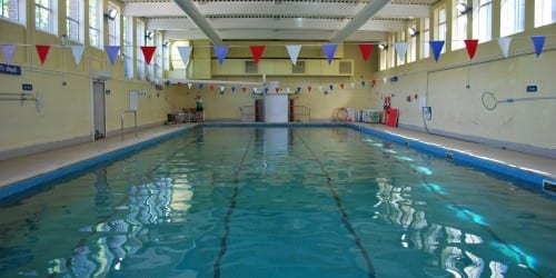 Wimbledon College Swimming pool