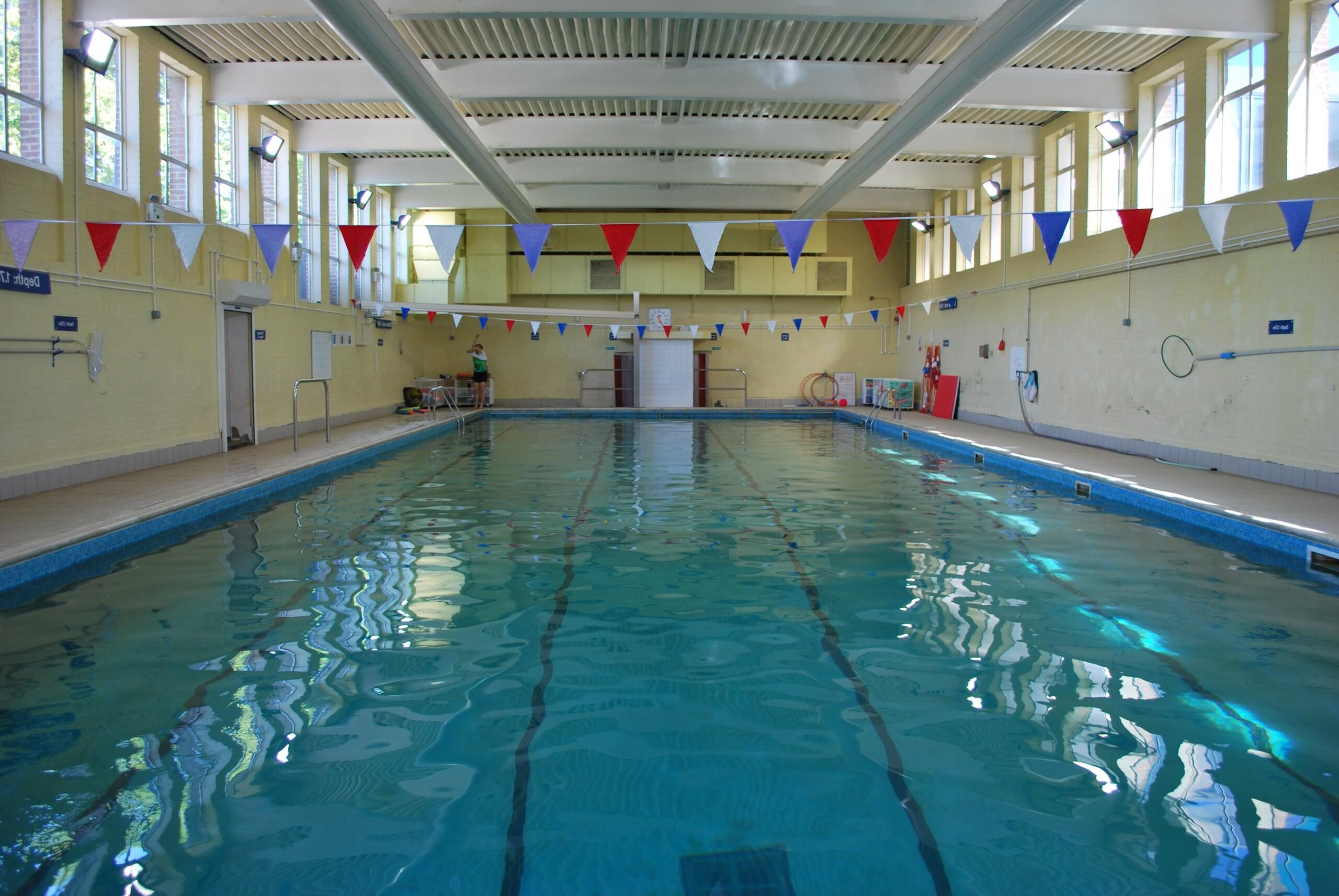 Wimbledon College Swimming pool