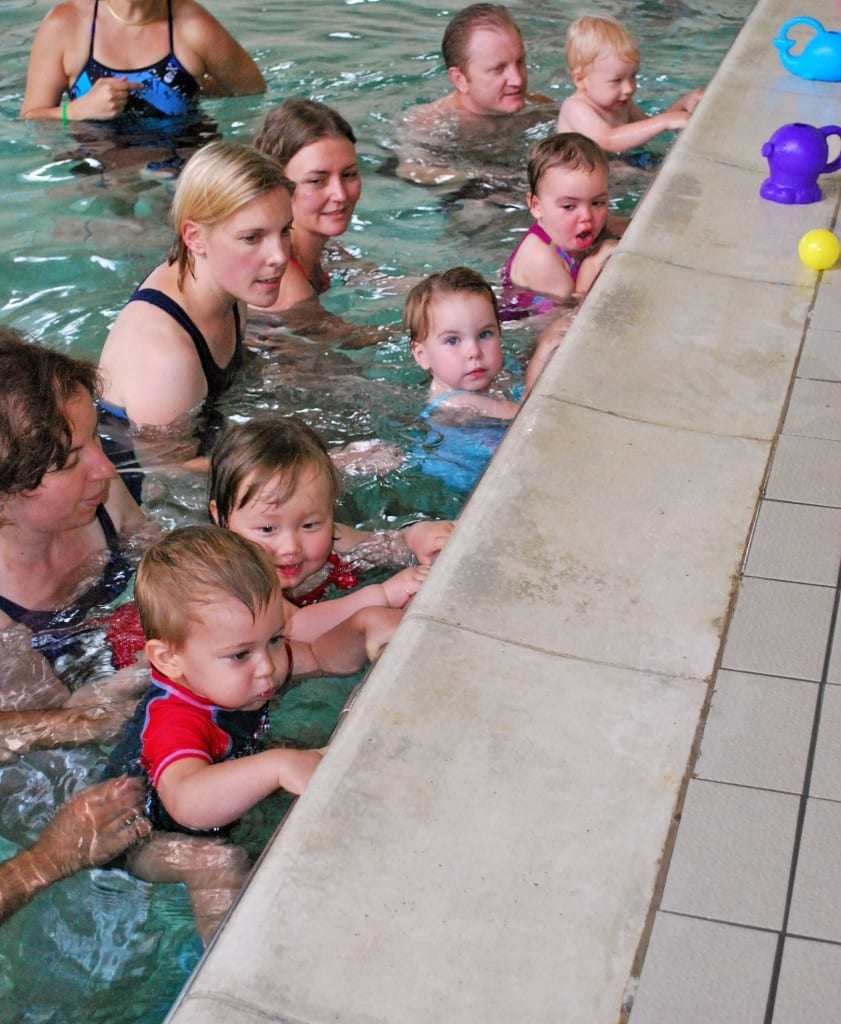 Parents and Toddlers swimming classes in Wimbledon, London