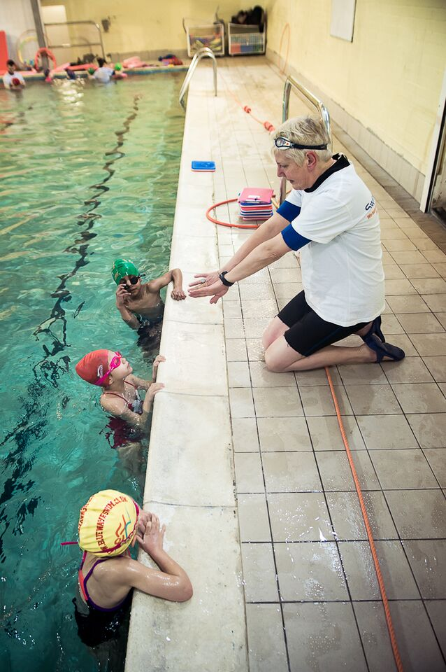 Swimming Readiness for Learning Technique