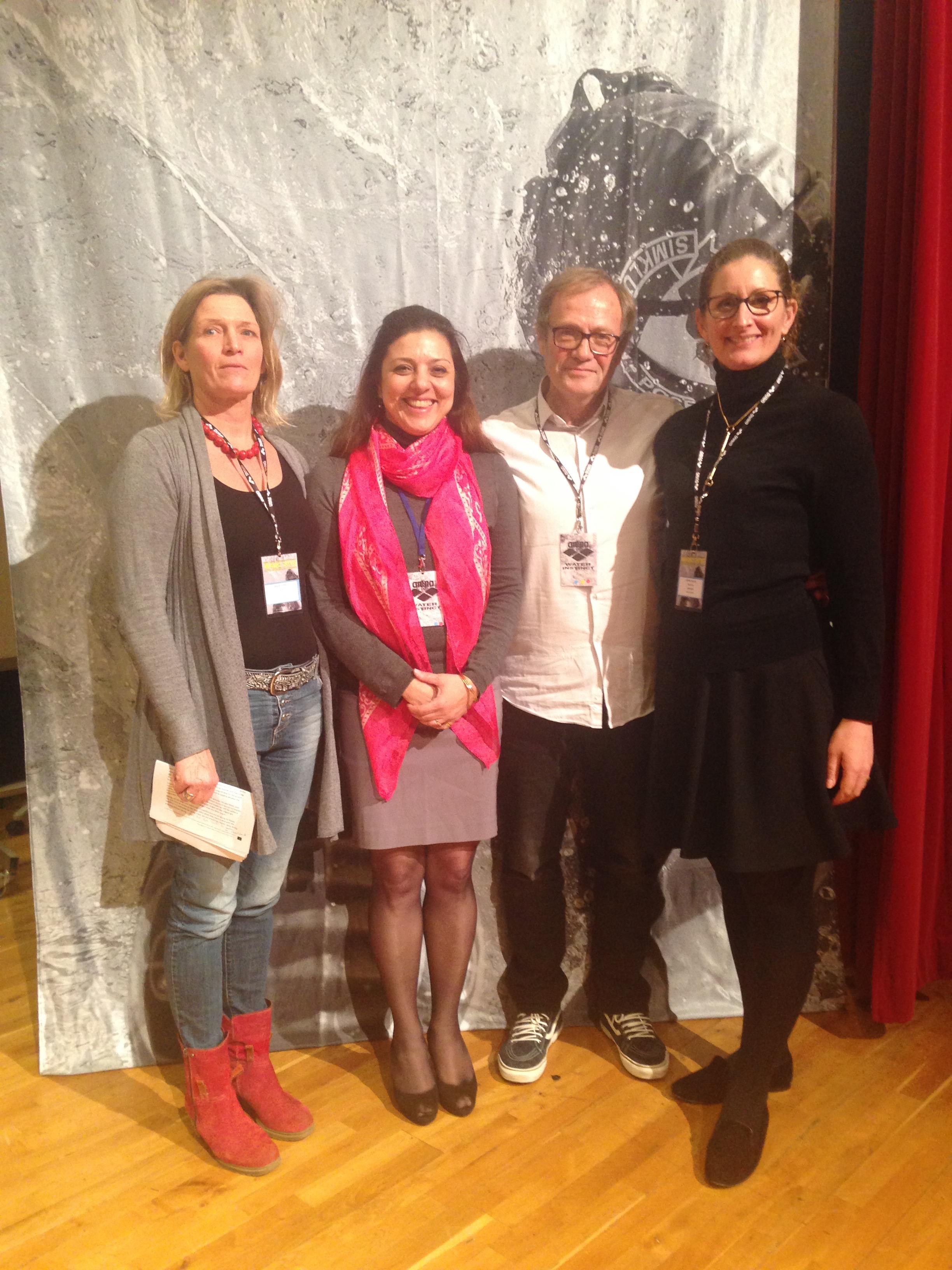 With Dr Zylberberg, Ulrika Faerch & Maren Ulfers (Germany)