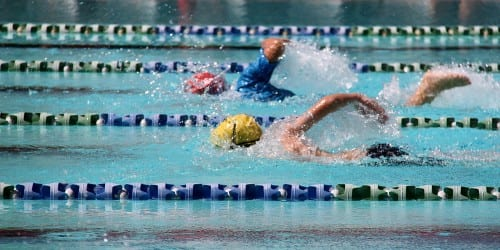 Group swim lessons for advanced swimmers