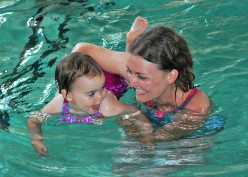 Parent & child swimming lessons in SW17 & SW19 in London, U.k