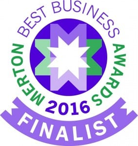 Merton Chamber of Commerce finalist for 'Best Business in SW19'