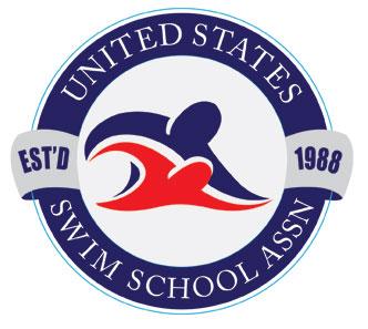 US Swim School Association Official Logo