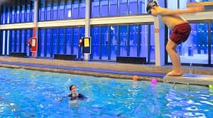 Learning to dive at Burntwood pool