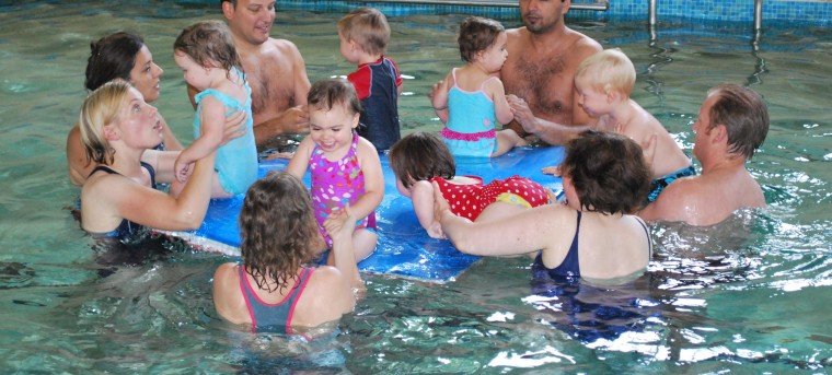 Toddler swimming lessons in Wimbledon, London, U.K