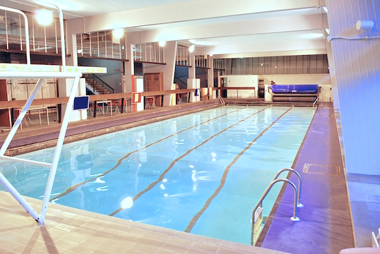 Burntwood School swimming pool in Wandswoth