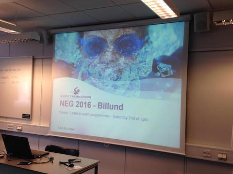 Attending 2016 Nordic Learn-to-swim conference in Denmark