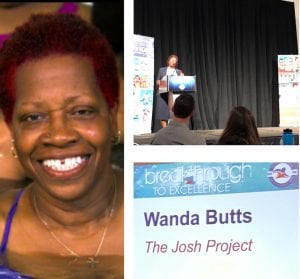 Wanda Butts from the Josh Project presenting in Florida swim conference