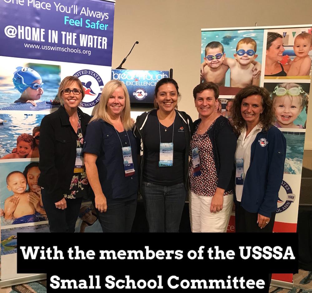Marjan Moosavi and USSSA small school committee