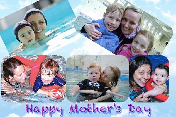 Mother's at Blue Wave Swim School