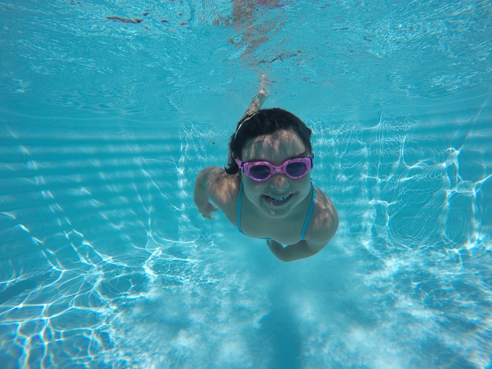 Not stopping your chid's swimming lessons before she is fully competent, help your child to be safe in water for life.