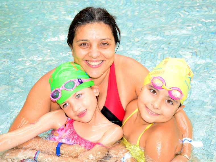 Marjan Moosavi founder of Blue Wave Swim School