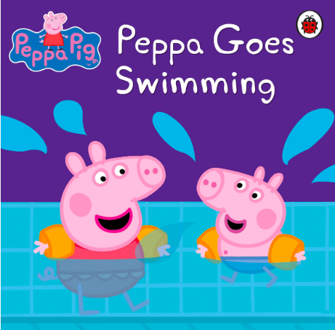 Pepa goes swimming book