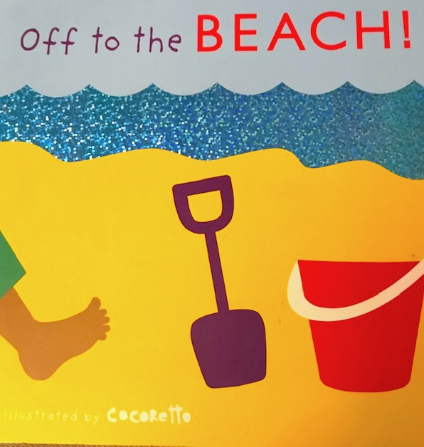 off to the beach book for children