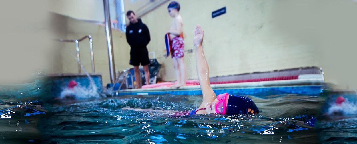 Group Swim lesson in Wimbledon