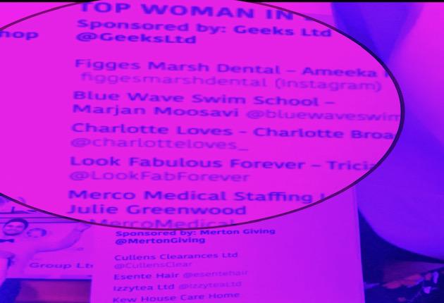 Best women in business in Merton 2019