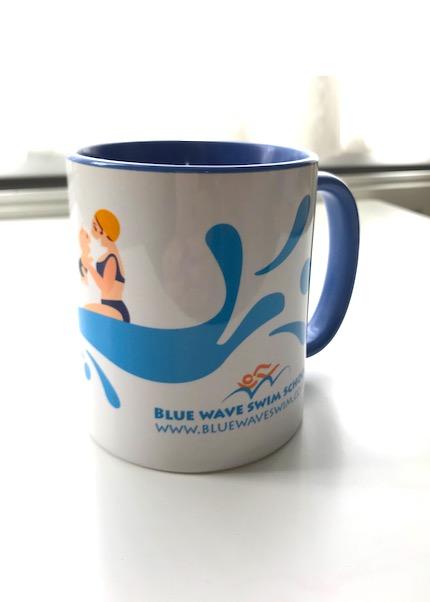 Blue Wave swim School's mug