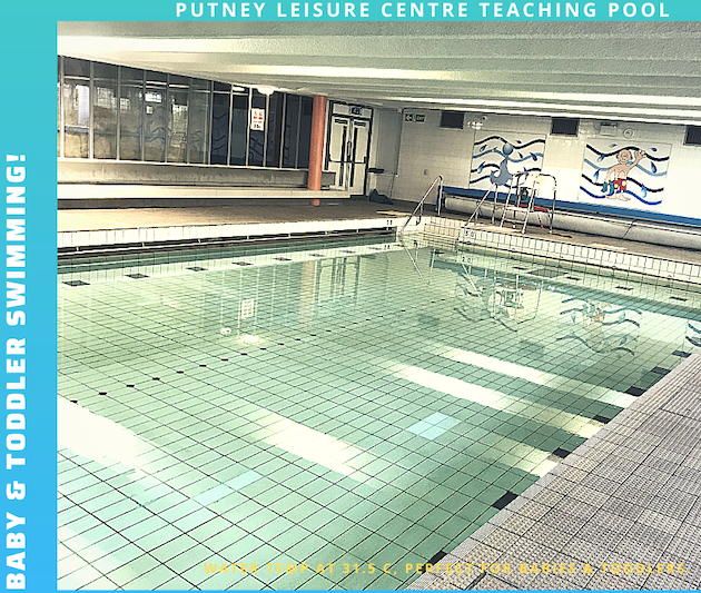 teaching pool at Putney leisure centre