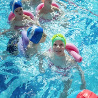swimming lessons for pre-school children