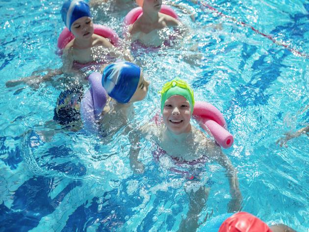 swimming lessons for pre-school children